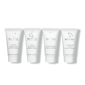 OrganicSpa Rich Rituals – Cream Cleanser, Face Exfoliant, Cream Mask, Moisture Rich